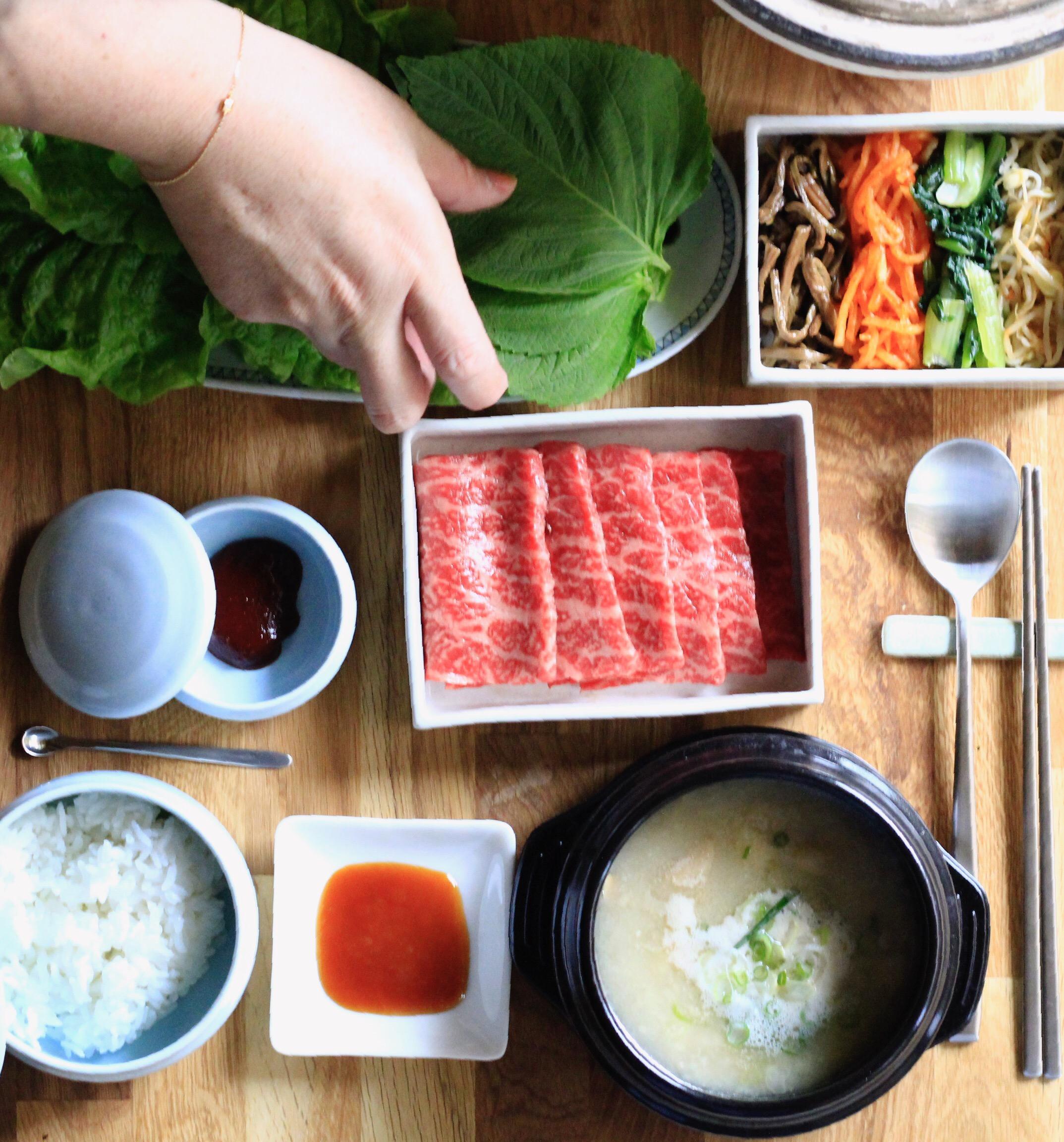 韓国焼肉写真④