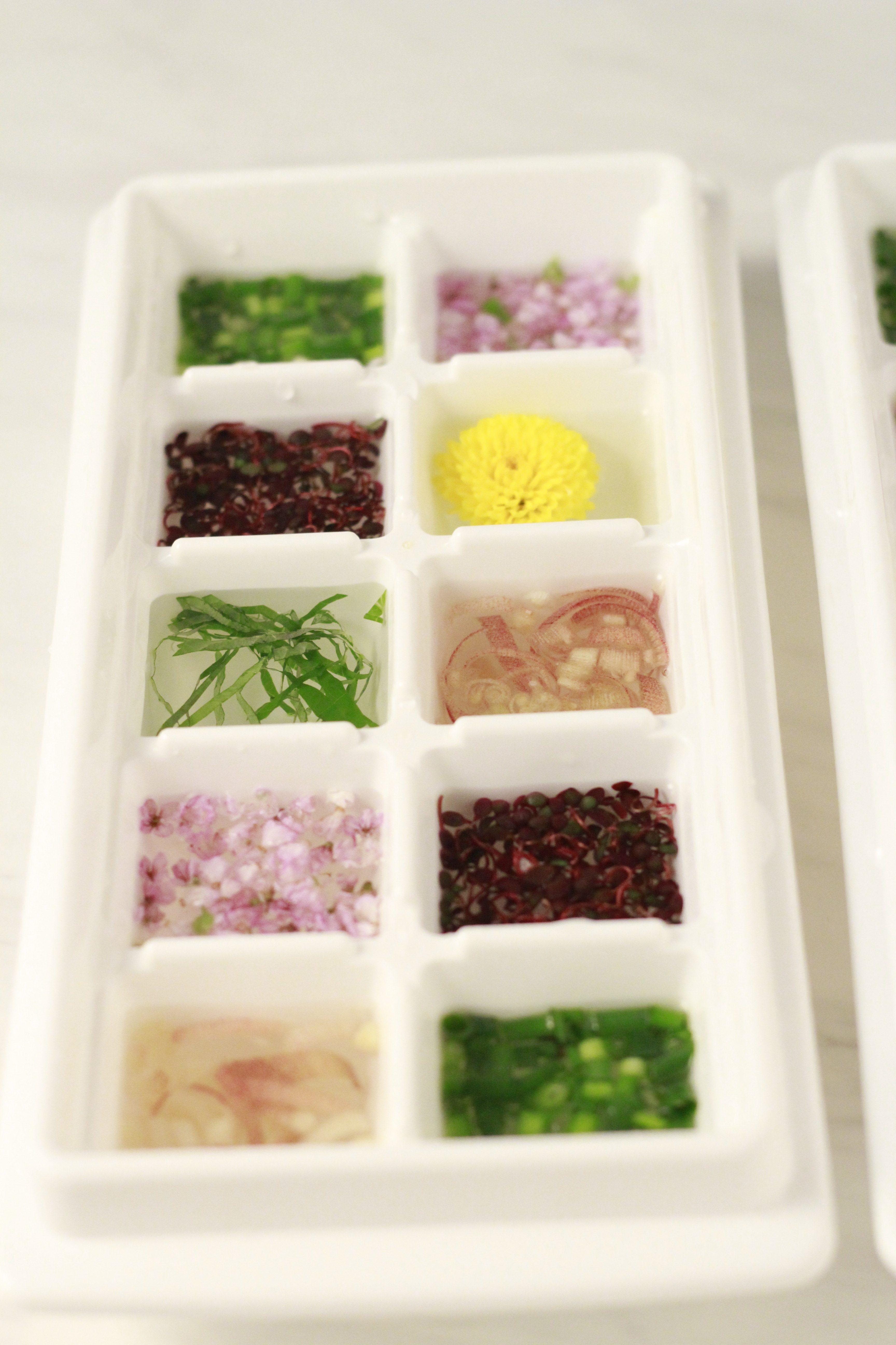 薬味を冷凍保存②