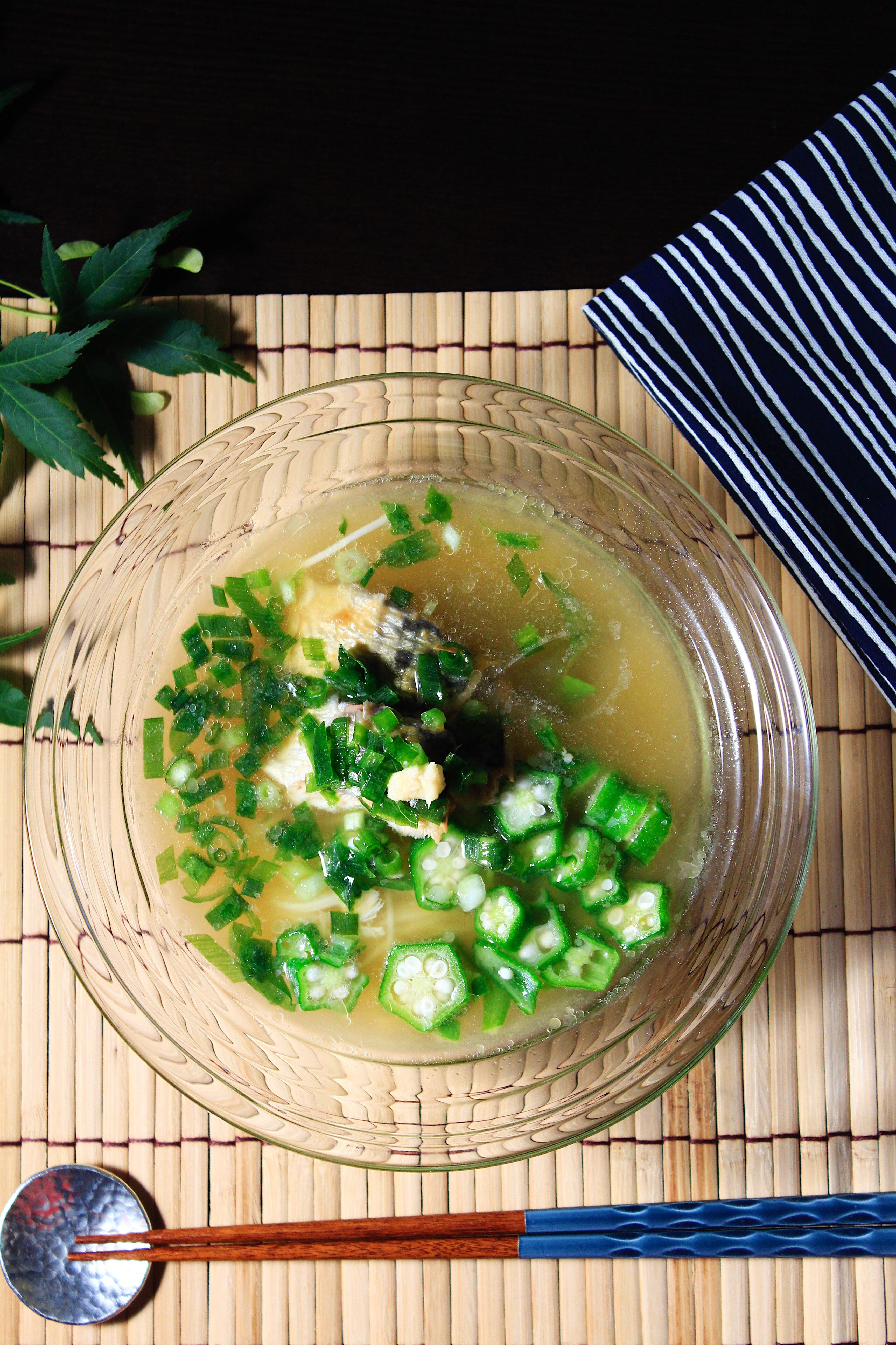 セブンイレブン食材で冷汁素麺①