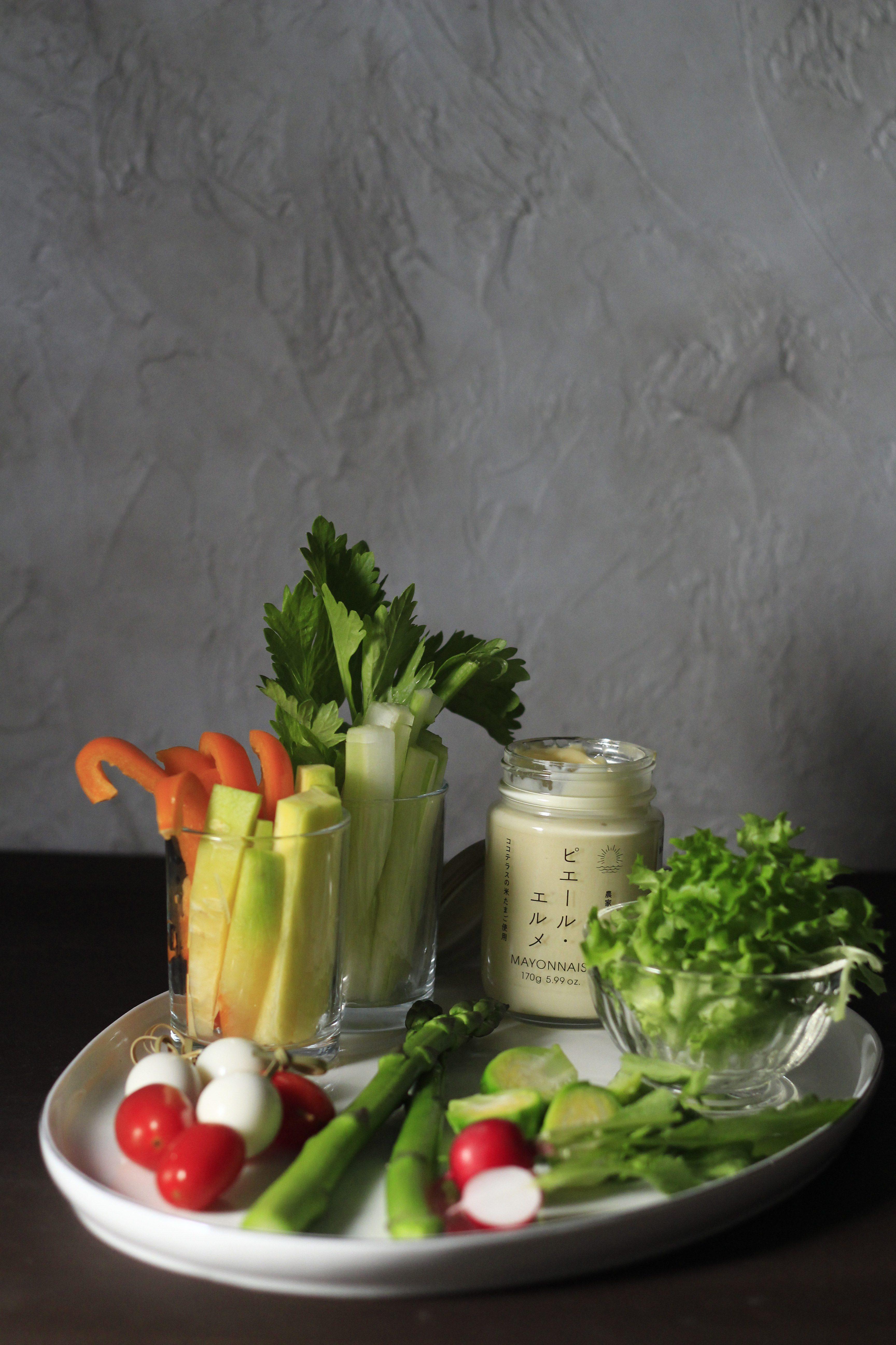 野菜スティックプレート