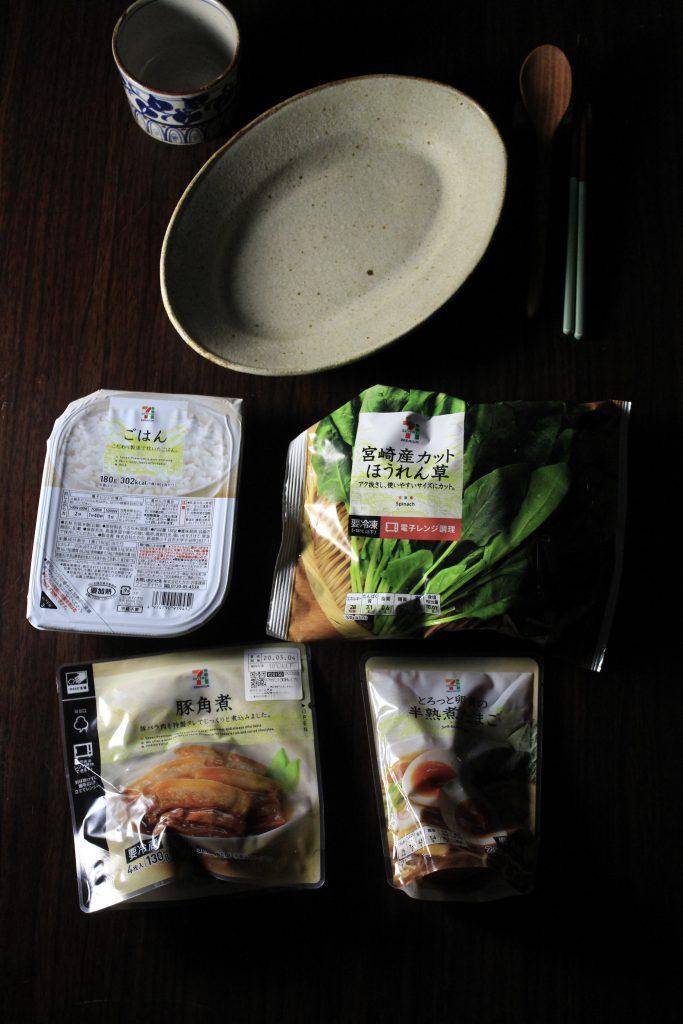 角煮丼材料一式