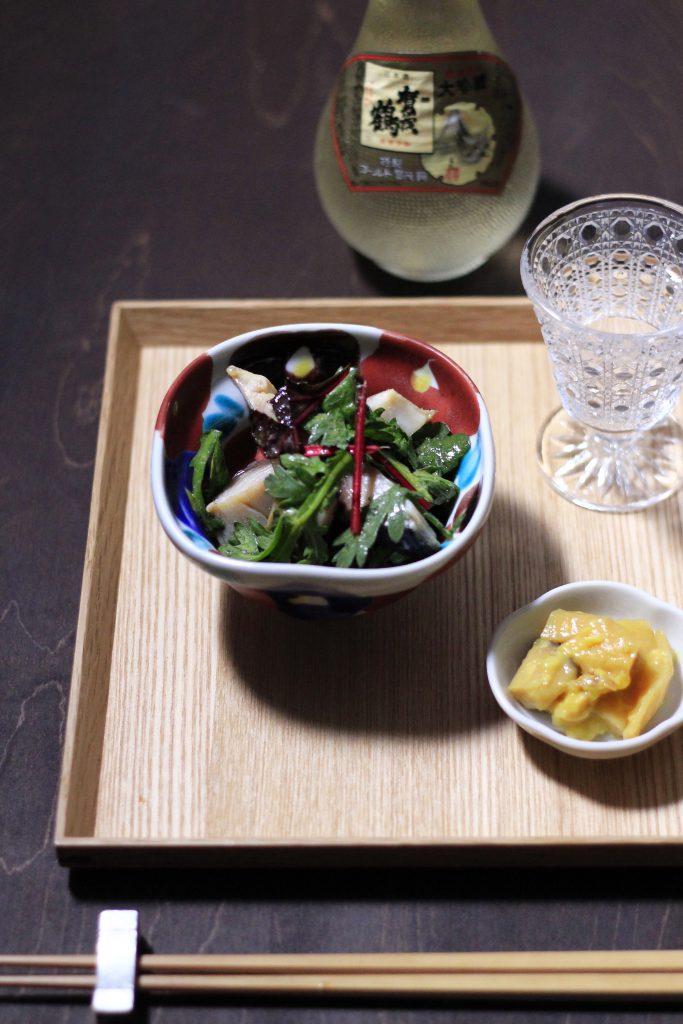 焼きサバ九谷焼小鉢①