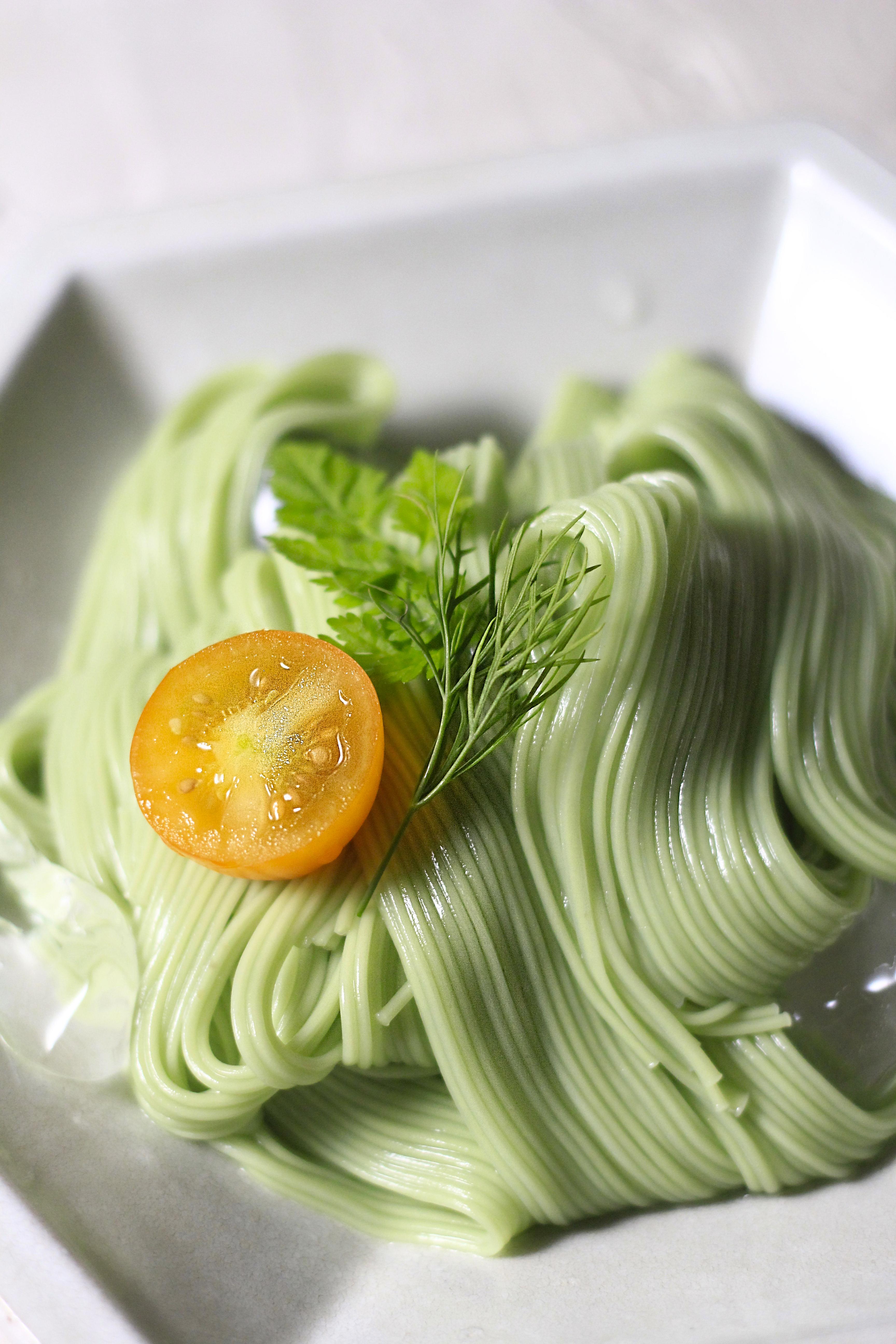 オリーブ素麺②