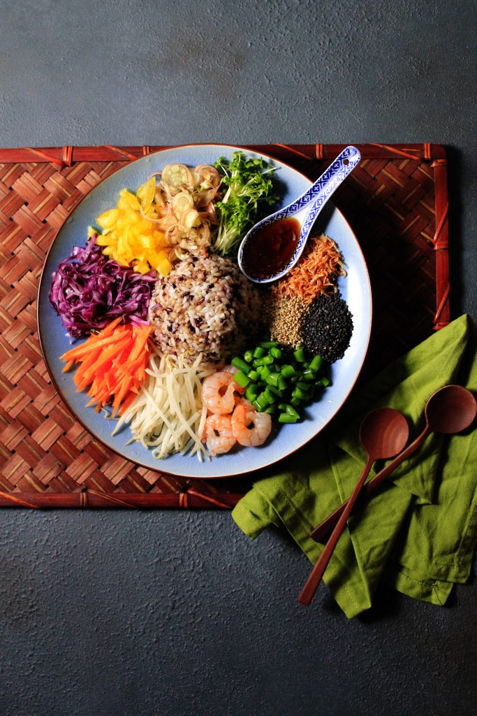 タイのライスサラダ(カオヤム)⑤