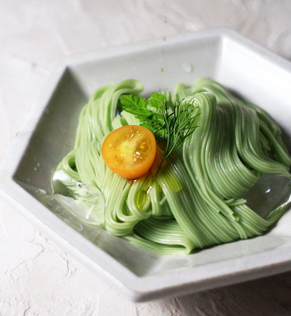 オリーブ素麺③